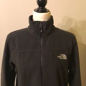 EUC The North Face Black Windwall Jacket